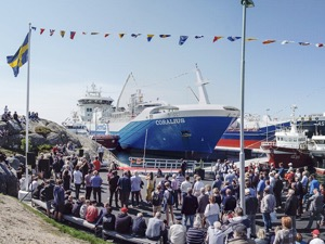 Opening cermony of Donsö deepwater harbour